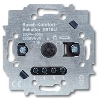 Комфортный выключатель Busch, 3-проводная схема подключения