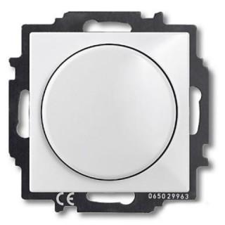 Светорегулятор 60-400 Вт ABB basic 55 (альпийский белый)