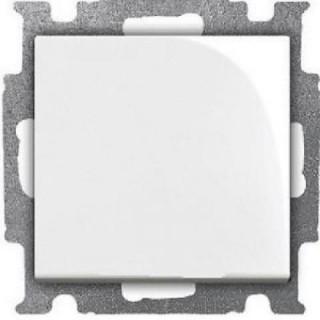 Выключатель одноклавишный ABB basic 55 (альпийский белый)