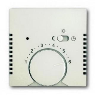Лицевая панель для термостата ABB basic 1095U, 1096U (шале-белый)