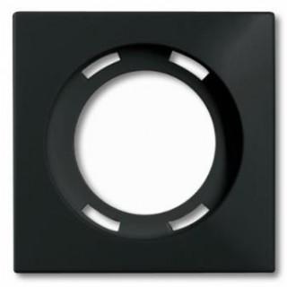 Лицевая панель для световых сигнализаторов скрытой установки ABB basic (шато-черный)