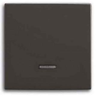 Лицевая панель для светорегуляторов 6524U, 6550U, 6560U, 6593U, 6401U, 6402U ABB basic (шато-черный)