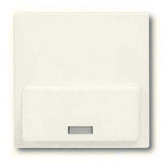 Лицевая панель для Busch-iDock 8218U ABB basic (шале-белый)