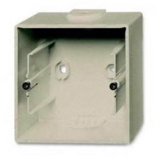 Коробка для накладного монтажа 1 пост ABB Basic шампань