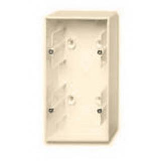 Коробка для накладного монтажа 2 поста ABB Basic слоновая кость