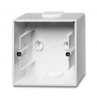 Коробка для накладного монтажа 1 пост ABB Basic белый