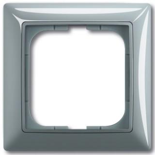 Рамка на 1 пост ABB basic 55 (алюминий)