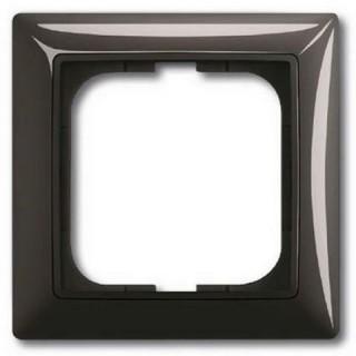 Рамка на 1 пост ABB Basic 55 (шато-черный)