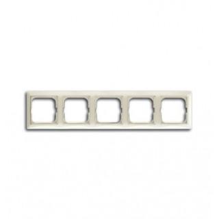 Рамка на 5 постов ABB basic 55 (шале-белый)