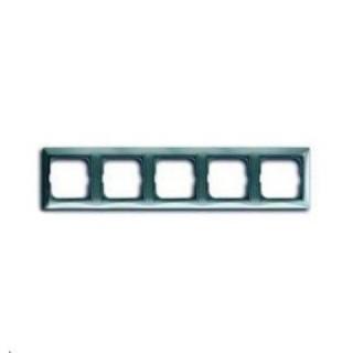 Рамка на 5 постов ABB basic 55 (синий)