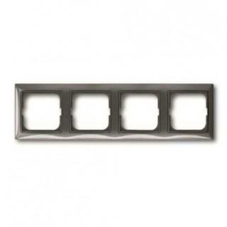 Рамка на 4 поста ABB basic 55 (серый)