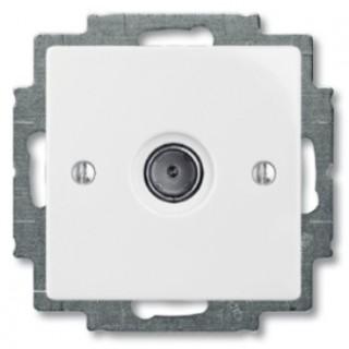 Розетка TV простая ABB basic 2400MHz (белый)