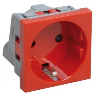 Розетка электро 45х45 для установки в KOPOBOX