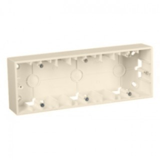 Коробка для наружного монтажа 3 местная Simon 1590753-034 шампань
