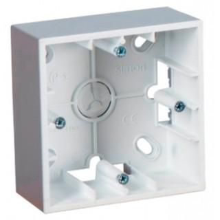Коробка для наружного монтажа 1 местная Simon 1590751-033 алюминий