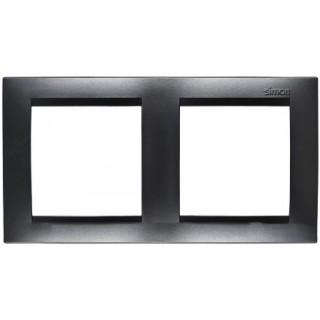 Рамка 2 места Simon 1500620-038 графит