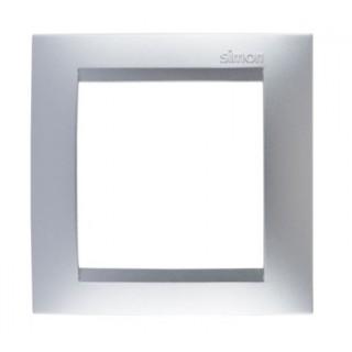 Рамка 1 место Simon 1500610-033 алюминий
