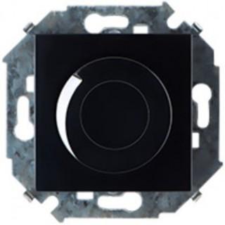 Регулятор напряжения поворотно-нажимной Simon 1591311-032, 500W черный