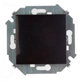 Выключатель одноклавишный проходной с 3-х мест (перекрестный) Simon 1591251-032 черный