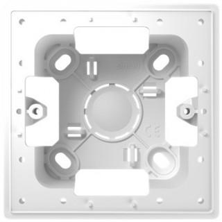 Монтажная коробка для накладного монтажа 1 модуль Simon 2400751-030 белый