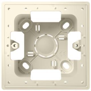 Монтажная коробка для накладного монтажа 1 модуль Simon 2400751-031 слоновая кость