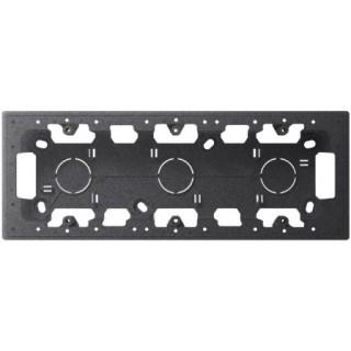 Монтажная коробка для накладного монтажа 3 модуля Simon 2400753-038 графит