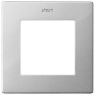 Рамка на 1 пост Simon 2400610-033 алюминий