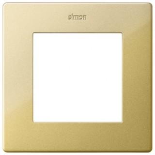 Рамка на 1 пост Simon 2400610-066 золото