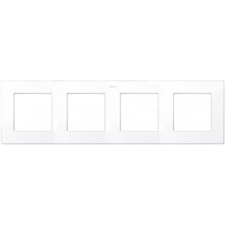 Рамка на 4 поста Simon 2400640-030 белый
