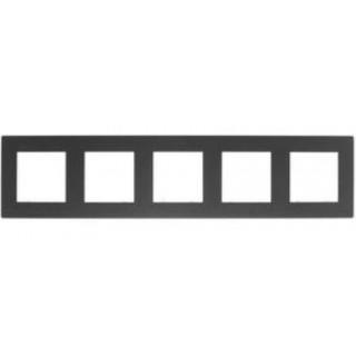 Рамка на 5 поста Simon 2400650-038 графит