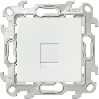 Розетка RJ45 кат 5e UTP Simon 2410598-030 белый