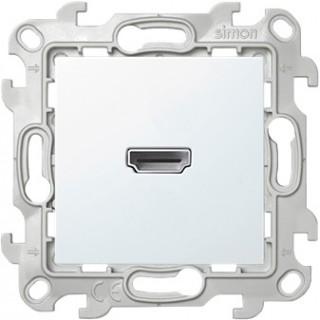 Коннектор HDMI 1.4 Simon 2411094-030 белый