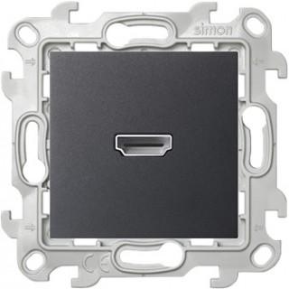 Коннектор HDMI 1.4 Simon 2411094-038 графит