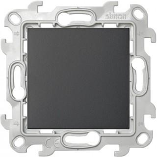 Одноклавишный выключатель Simon 2450101-038 графит