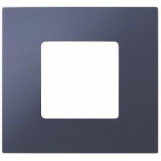 Декоративная накладка на рамку-базу, 1 место, S27Pl, синий