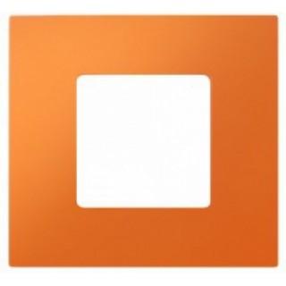 Декоративная накладка на рамку-базу, 1 место, S27Pl, оранжевый