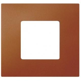 Декоративная накладка на рамку-базу, 1 место, S27Pl, артик оранжевый