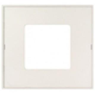 Декоративная накладка на рамку-базу, 1 место, S27Pl, прозрачная