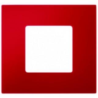 Декоративная накладка на рамку-базу, 1 место, S27Pl, красный