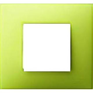 Рамка 1 место Simon 27771-61 лимонный