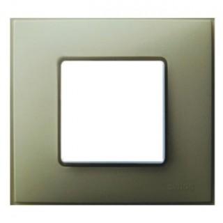 Рамка 1 место Simon 27771-65 серый