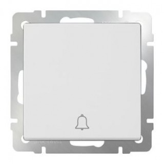 Кнопка звонка WL01-04-01 белый