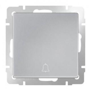 Кнопка звонка WL06-04-01 серебряный