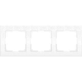 Рамка на 3 поста WL05-Frame-03 белый