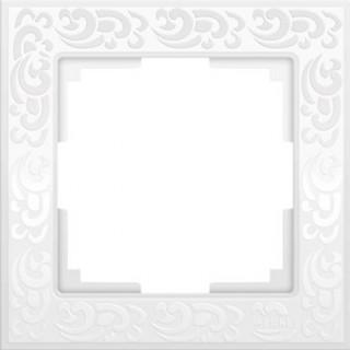 Рамка на 1 пост WL05-Frame-01-white белый