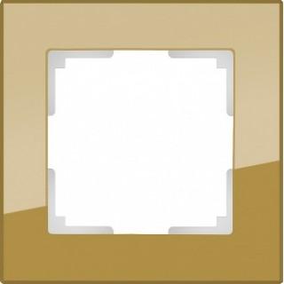 Рамка на 1 пост WL01-Frame-01 бронза