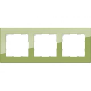 Рамка на 3 поста WL01-Frame-03 фисташковый