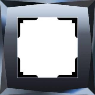 Рамка на 1 пост WL08-Frame-01 черный