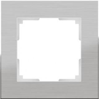 Рамка на 1 пост WL11-Frame-01 алюминий
