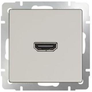 Розетка HDMI WL03-60-11 слоновая кость